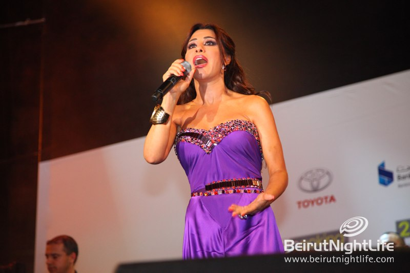 "Najwa Karam, ""Ktir Salbe"" and More Celebrate Achrafieh Live"