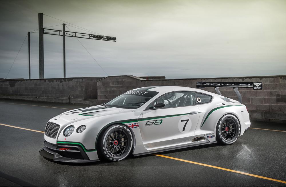 Bentely Returns to Motorsport with Racing GT