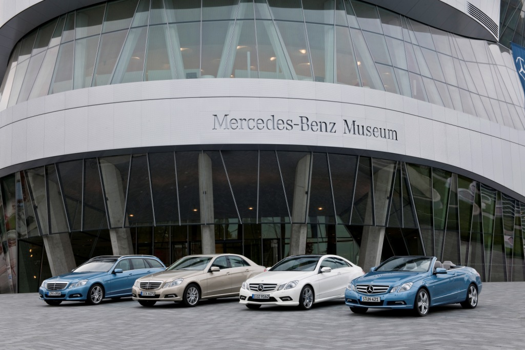 2012 E-Class Sales on Track for Record Year