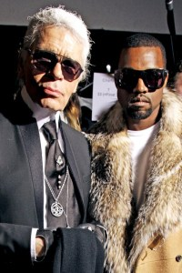 New combo: Can Karl Lagerfeld Rap?