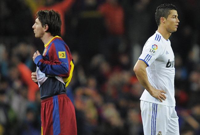 An Equal Messi VS Ronaldo Classico
