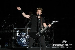YAS F1 Grand Prix Day 2: Speed, Iris Beirut, and Nickelback