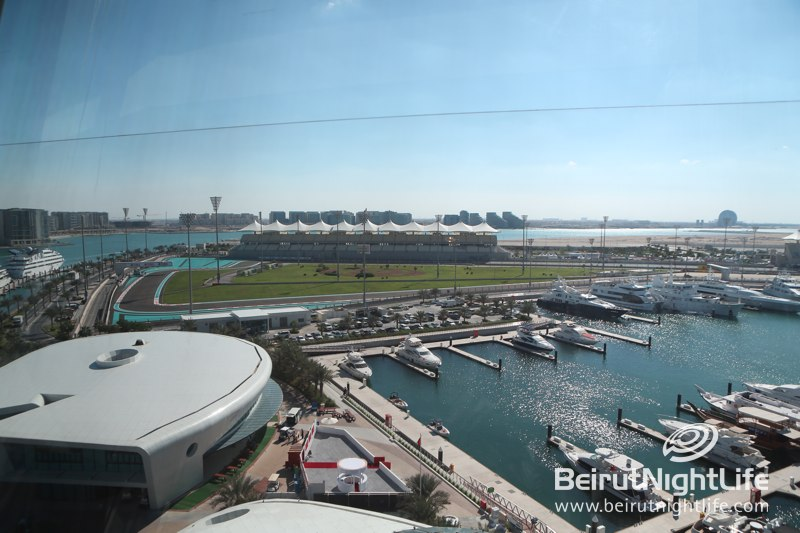 Yas Marina F1 Race 2012 Preparations and VIP Lounge