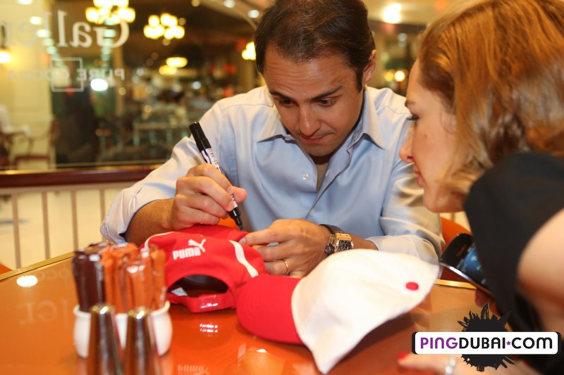 Richard Mille & Felipe Massa exclusive interview at Marina Mall Abu Dhabi Boutique