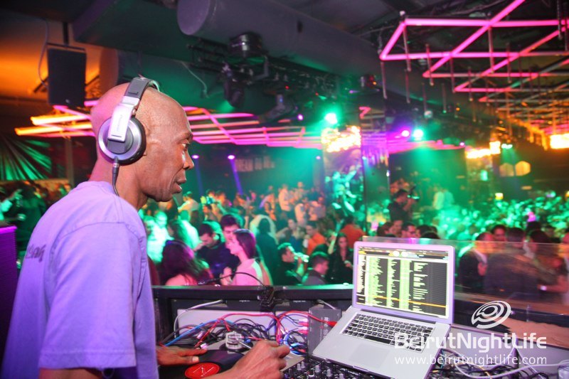 Maxi Jazz Live at MAD Beirut
