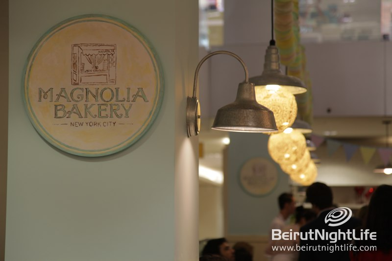 New York's Magnolia Bakery Opens in Lebanon
