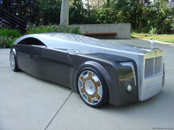 """Apparition"" a stunning Rolls-Royce concept car"