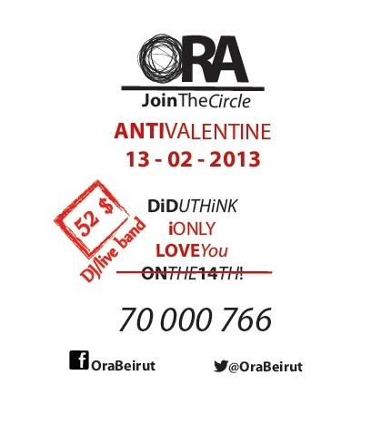 AntiValentine At ORA