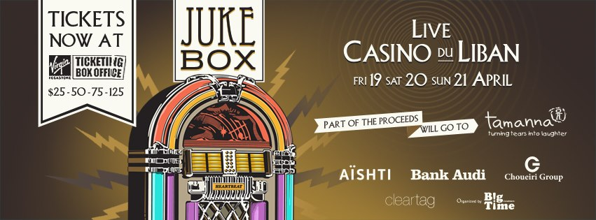 Juke Box at Casino du Liban