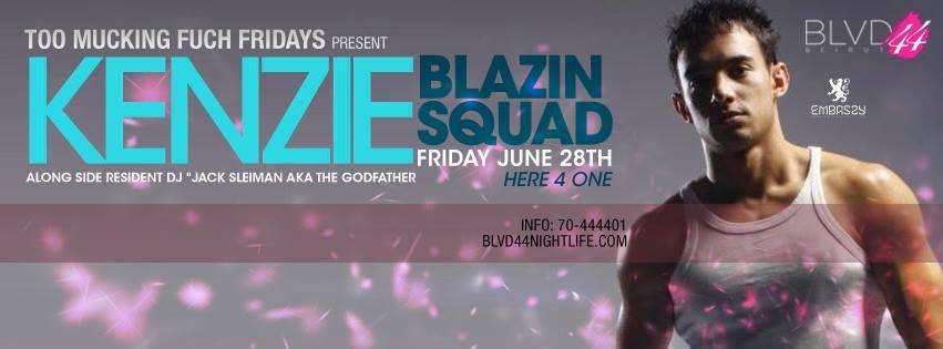 BLVD 44 Presents Blazin' Squad's KENZIE