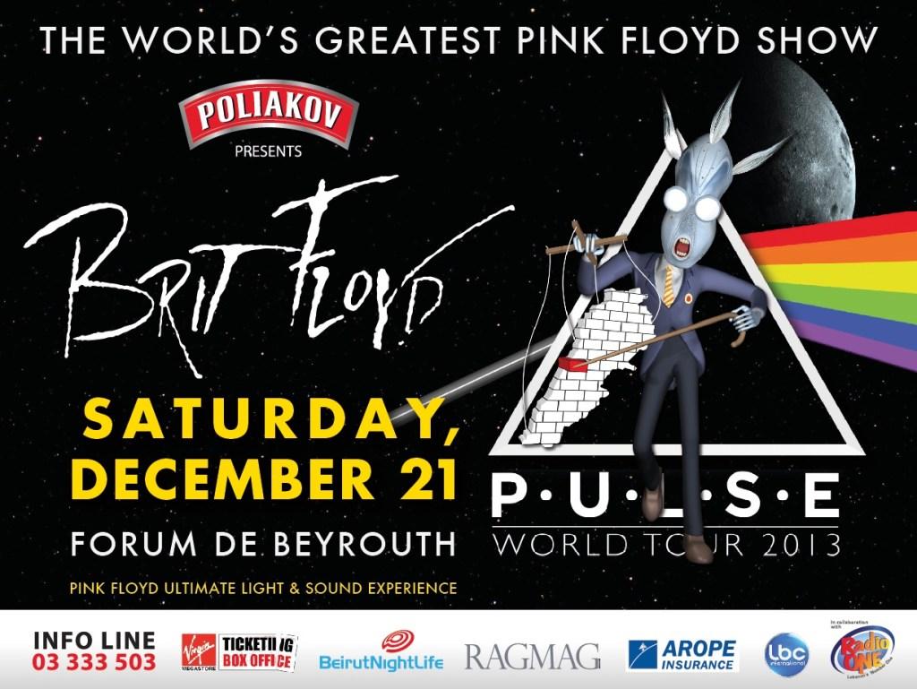 Brit Floyd: P-U-L-S-E 2013 World Tour Beirut