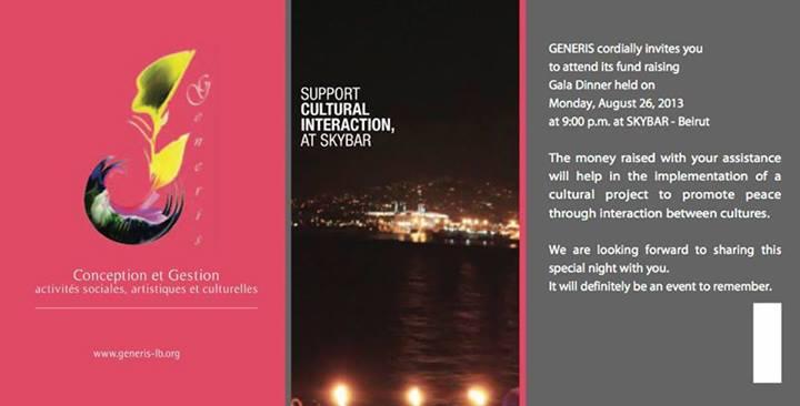 GENERIS Fundraising Gala Dinner at SKYBAR