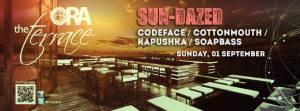 SUN-DAZED Featuring Codeface, CottonMouth, Kapushka, Soapbass