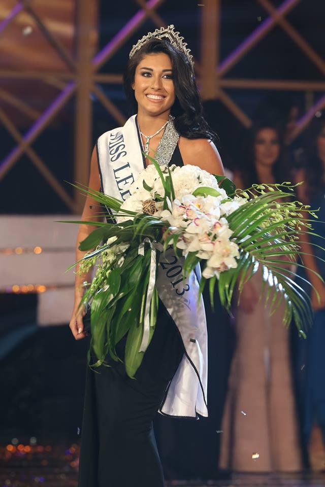 Karen Ghrawi crowned Miss Lebanon 2013