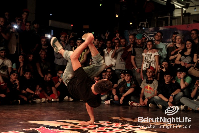 B-Boy Ralph battles to glory at the 2014 Red Bull BC One Lebanon Cypher