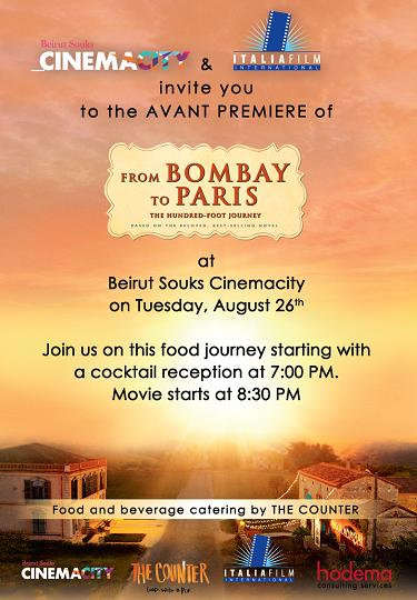 """Win Tickets to the Avant Premiere of the New Movie """"From Bombay to Paris"""""""
