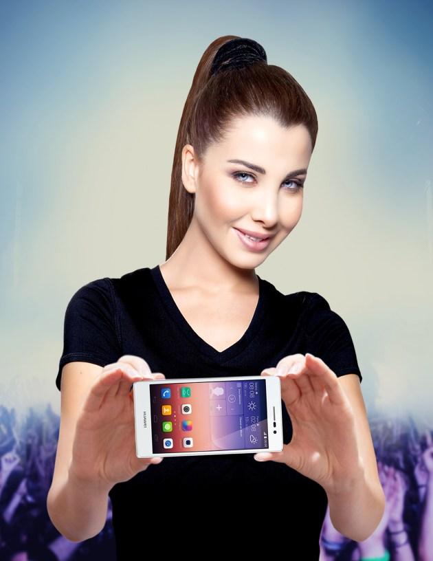 Nancy Ajram, Huawei Brand Ambassador for MENA Region