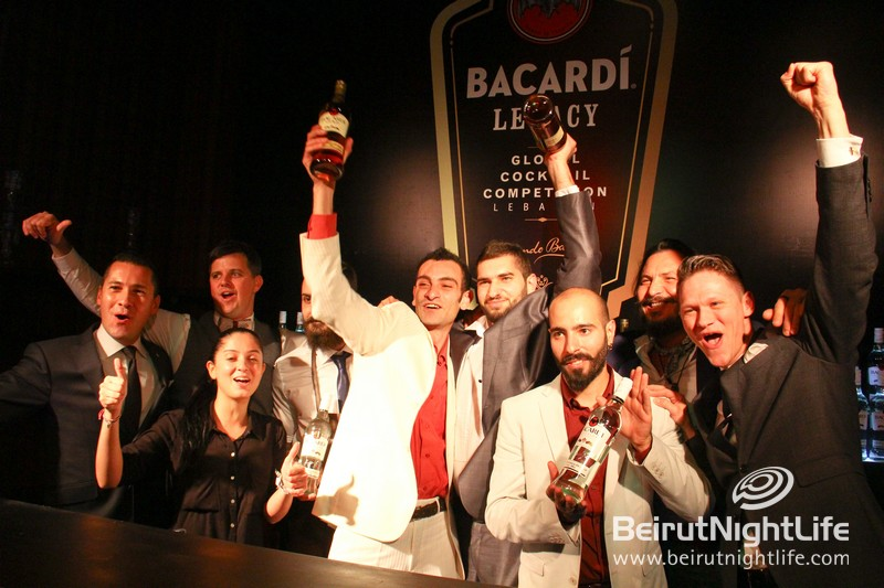 Bacardi Legacy Cocktail Competition Lebanon at Villa Linda Sursock