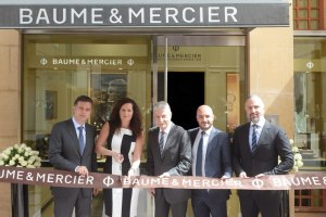 Baume & Mercier commemorates its New Boutique in Beirut Souks with a Ribbon-cutting Ceremony