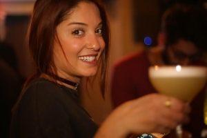 Isaac Viner and Ingrid Naccour at DRAY Pub – Badaro