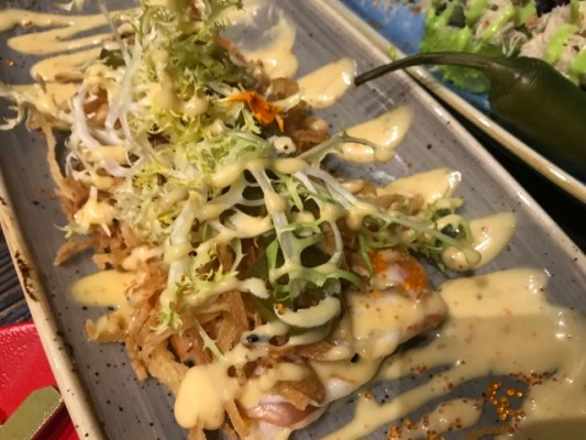 Steakbarsushi: a palate refining journey from Kyoto through Uruguay to Naccache