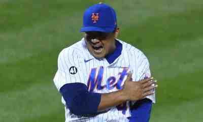 Erasmo Ramírez es agente libre de los Mets