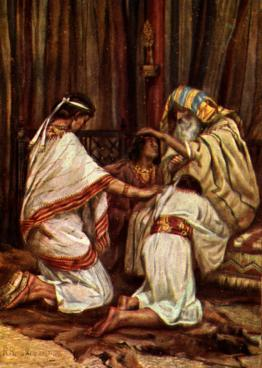 Jacob-blesses-gsons