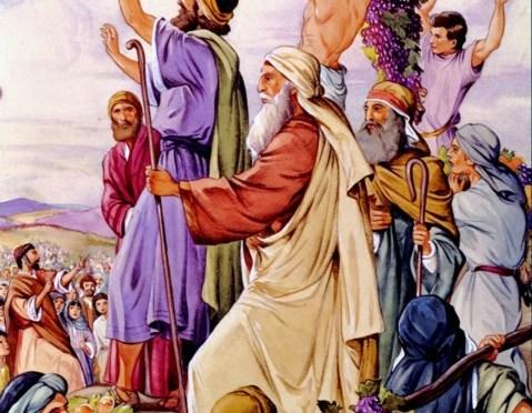 """Shabbat: """"Sh'lach-L'kha Anashim"""" – """"Send you men"""" & Shabbat Mevar'chim HaChodesh Elul"""