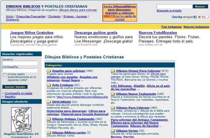 DIBUJOS BÍBLICOS Y POSTALES CRISTIANAS PARA COLOREAR. « PARA ...