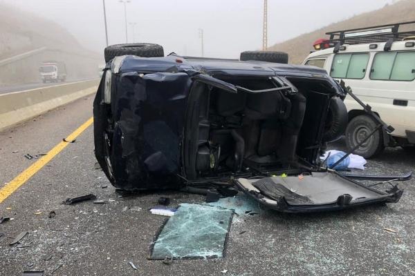 قتيل وجريح بحادث سير مروع على طريق ضهر البيدر