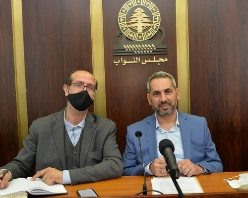 حمادة والموسوي تقدما باقتراح قانون لانشاء مؤسسة مياه بعلبك الهرمل