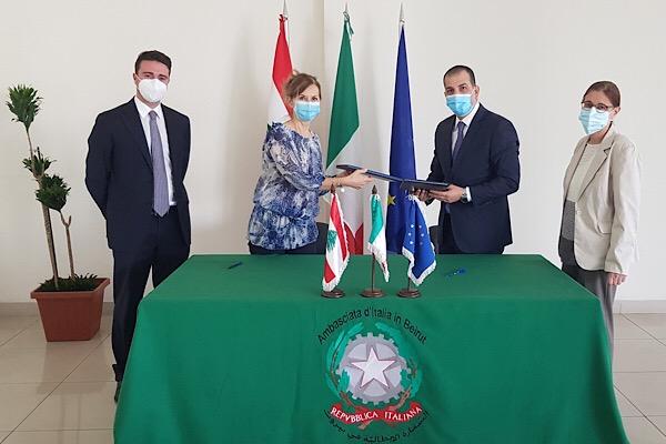 ايطاليا تدعم مشروع الوجبات المدرسية في لبنان بمليون يورو