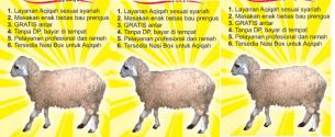 daftar harga paket aqiqah bekasi