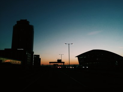 En route Heathrow Photo copyright Rebecca Lau