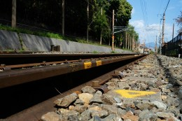 Train Track Photo copyright Rebecca Lau