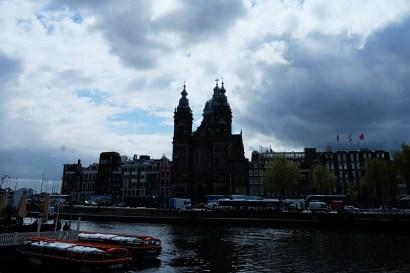 Amsterdam Centraal Photo copyright Rebecca Lau
