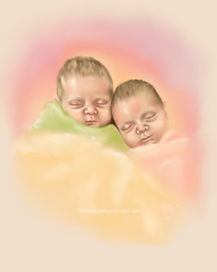 Sketch A Day Drawing Challenge: Day 172 – Twins