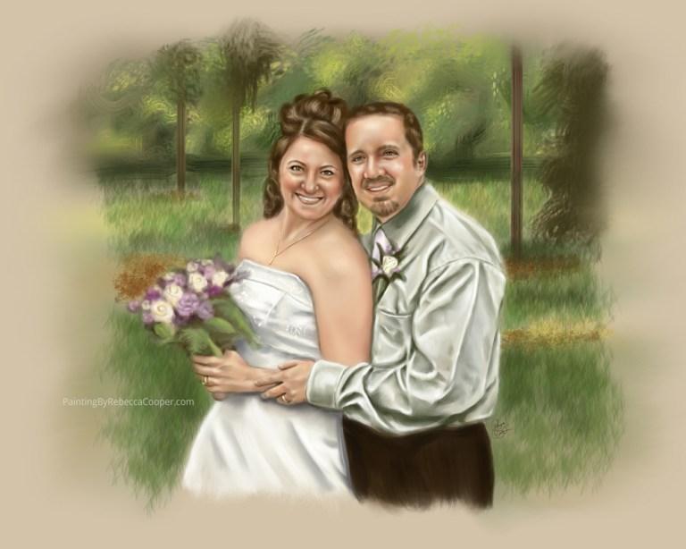Art Commission: Newlyweds