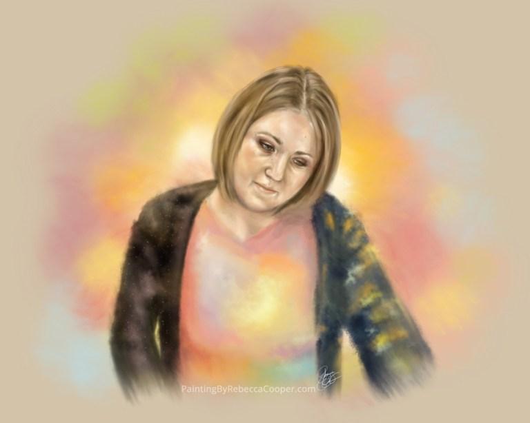 An Artist's Self Portrait