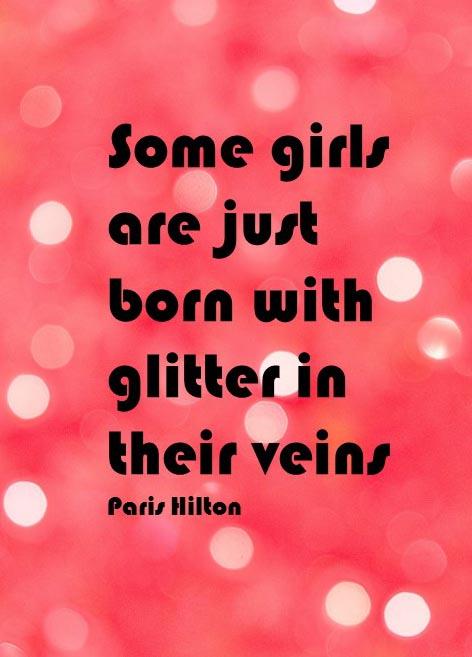 #Paris #Hilton #glitter