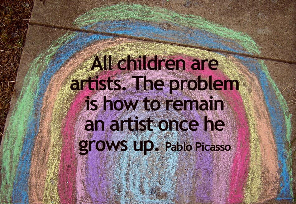 #quote #picasso be kitschig blog berlin