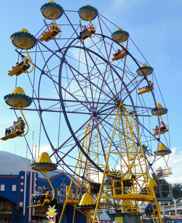 #Riesenrad #Luna Park #ferriswheel #enterprise #melbourne