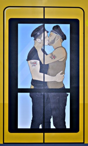 #gay #Berlin #BVG #advertisement