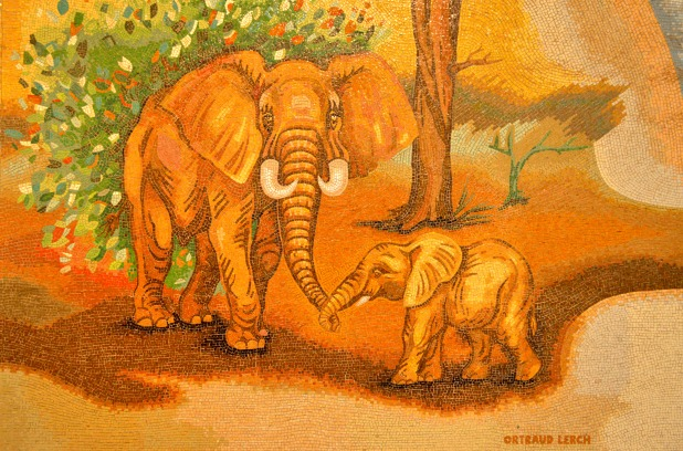 #elephants #mosaic