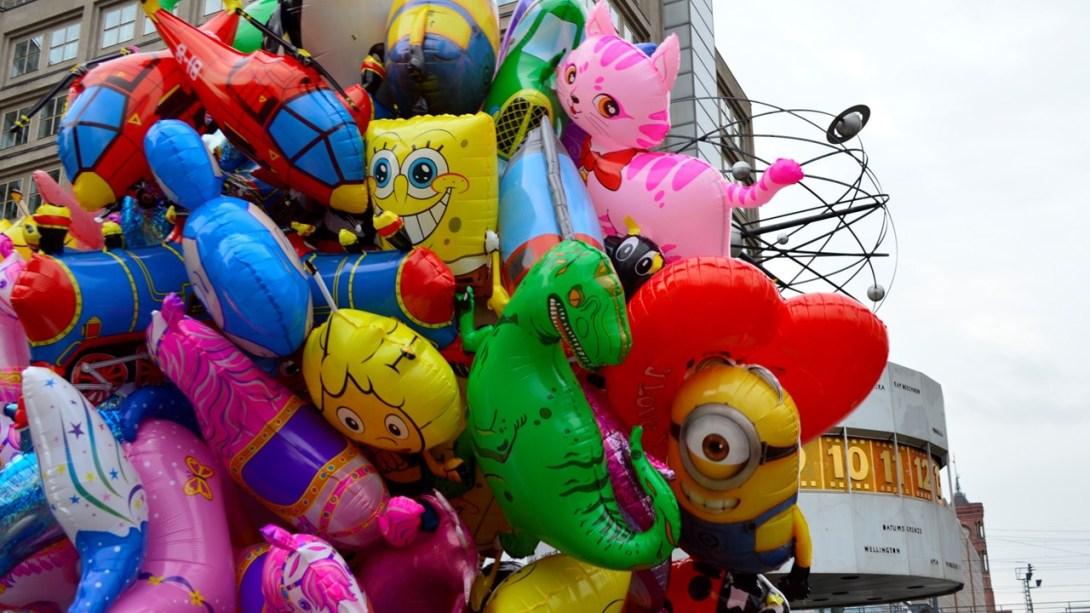 #Balloon #Berlin #weltzeituhr