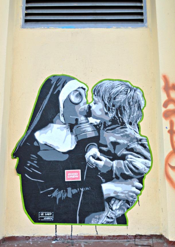 street art Berlin be kitschig