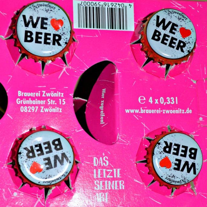 be kitschig Unicorn Beer Einhorn Bier