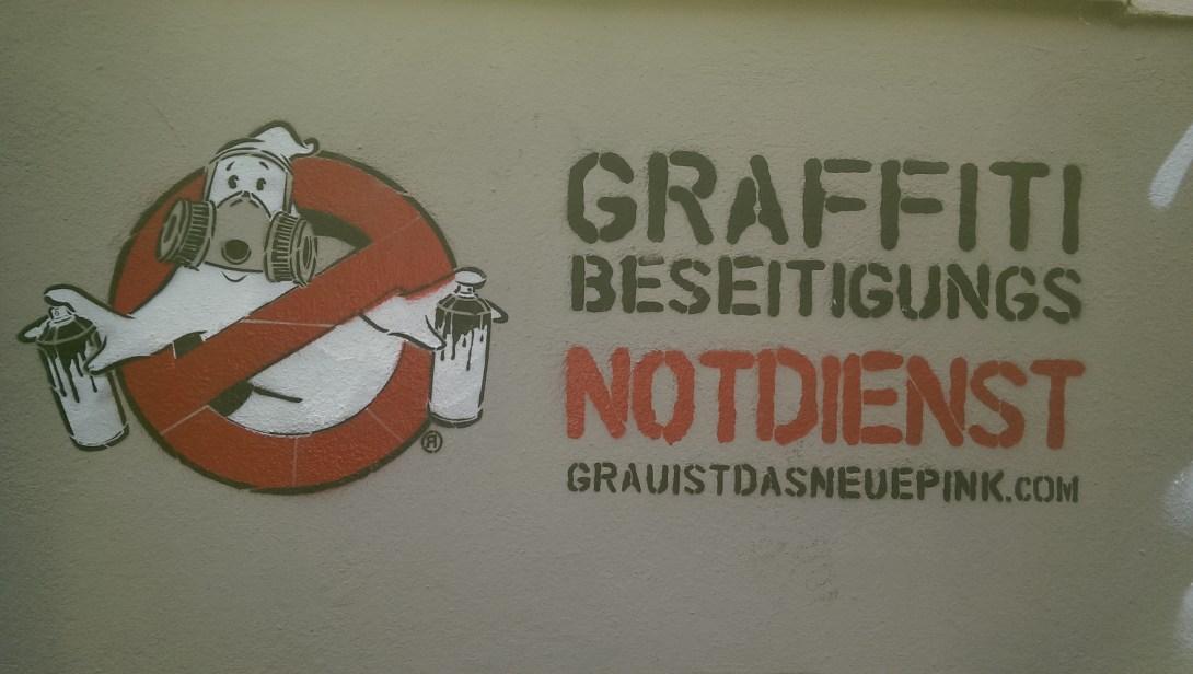 Grau ist das neue pink Street art berlin be kitschig blog