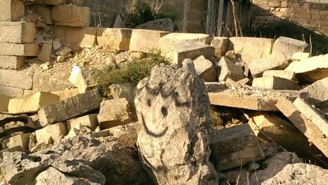 white rocks malta street art photography
