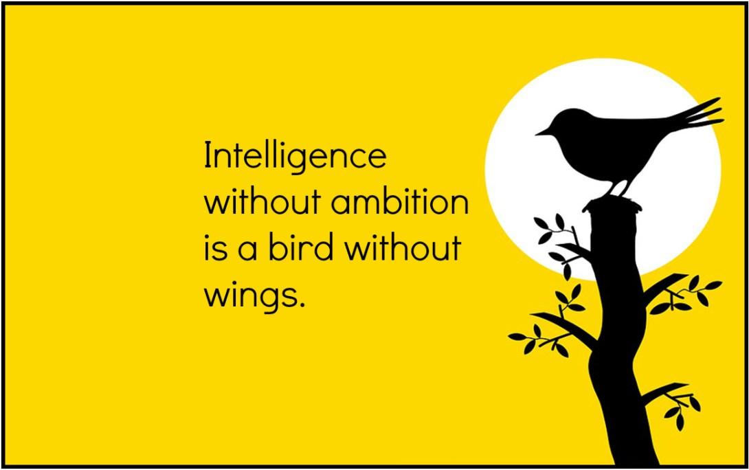 Dali Quote Intelligence without ambition is a bird without wings - be kitschig blog Berlin